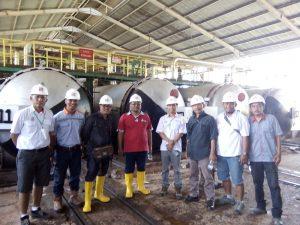 Pengawasan Pabrik PT. RAP1